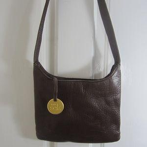 The Sak Brown Leather Crossbody Purse